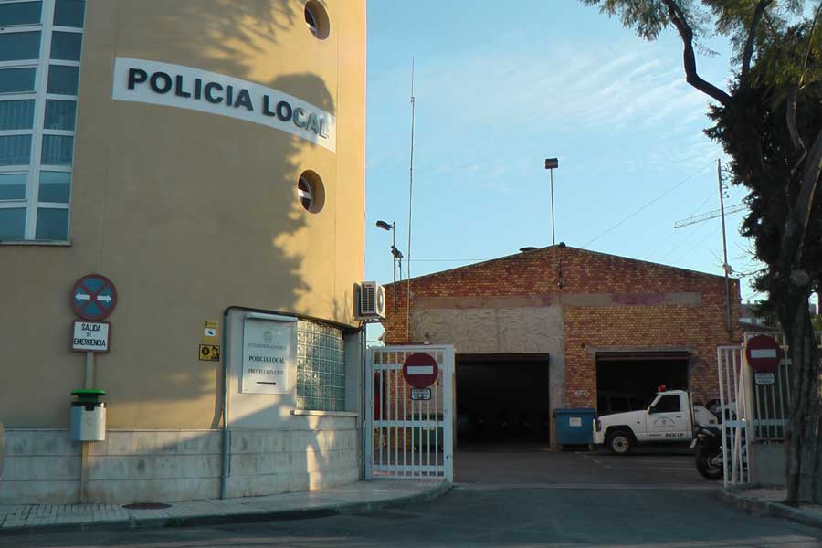Dependencias de la Policía Local