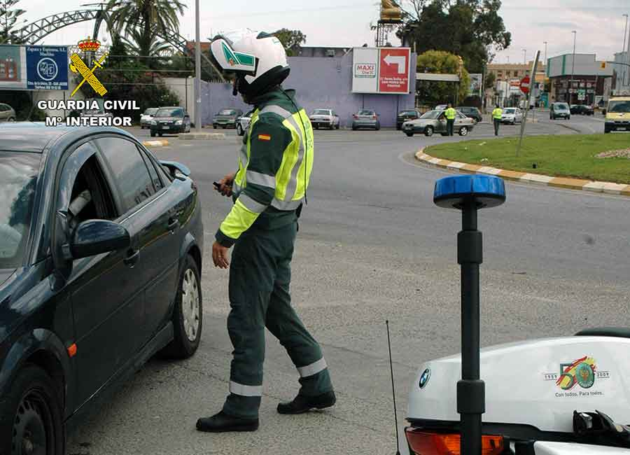 Control de Tráfico de la Guardia Civil