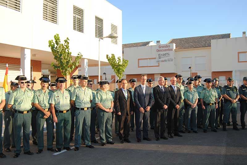 Inauguración Instalaciones Policía Local y Guardia Civil