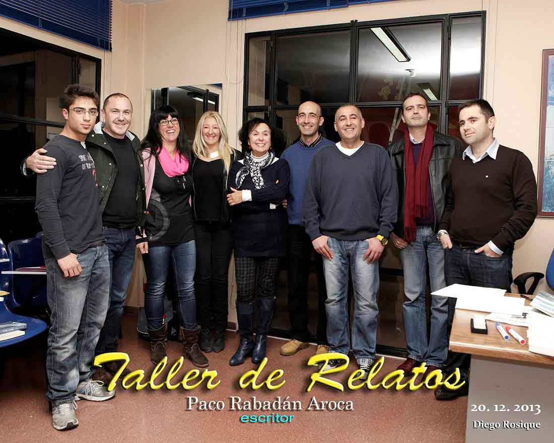 Clausura Taller de Relatos.