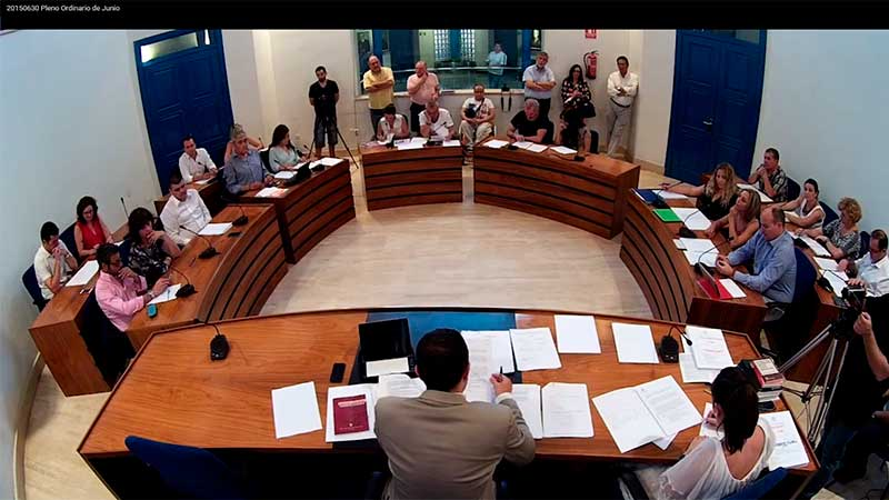 Pleno Ordinario de Junio 2015