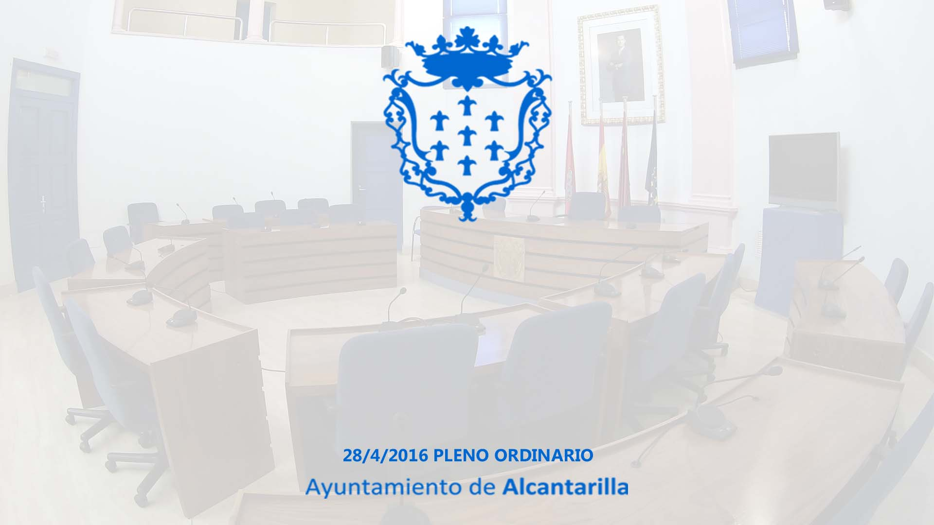 Sesión Ordinaria de Pleno Municipal de Abril