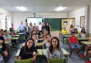 Incio curso ESO en IES Alcantara Alcantarilla